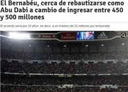Enlace a Me parece que los seguidores del Madrid no van a estar muy de acuerdo...