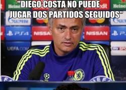 Enlace a Diego Costa no da crédito a las palabras de Mou
