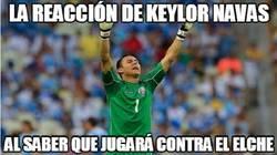 Enlace a Al igual que Ochoa, también Keylor Navas lo hará