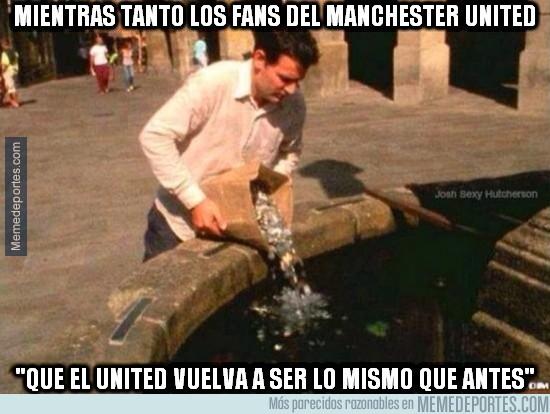 390822 - Mientras tanto, los fans del Manchester United