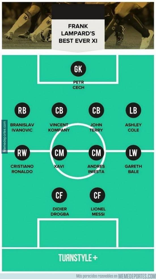 391224 - Lampard ha elegido su XI ideal