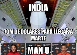 Enlace a La India vs Manchester United
