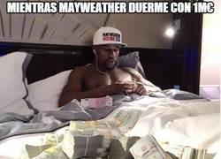 Enlace a Mientras Mayweather duerme con 1M€