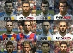 Enlace a Algunos jugadores en el FIFA15 y en el PES15, ¿con cuál te quedas?
