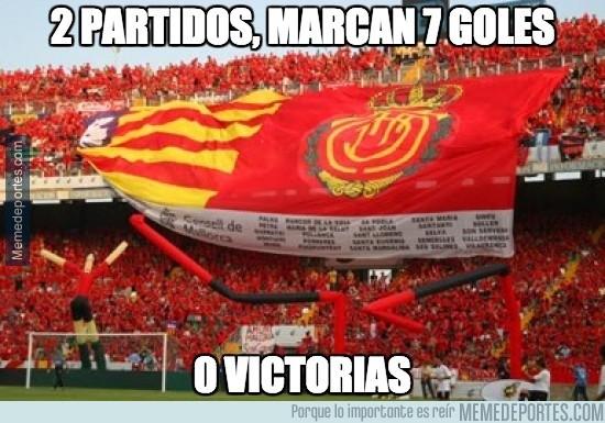 392911 - Mallorca: 2 partidos, 7 goles a favor