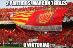 Enlace a Mallorca: 2 partidos, 7 goles a favor