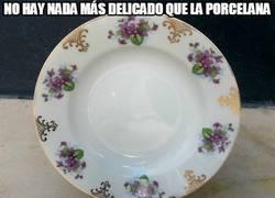 Enlace a No hay nada más delicado que la porcelana