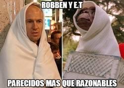 Enlace a Robben y ET
