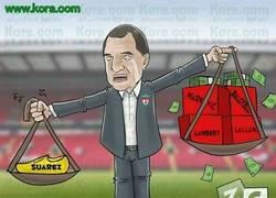 Enlace a Liverpool echa de menos a Suárez, su jugador de oro