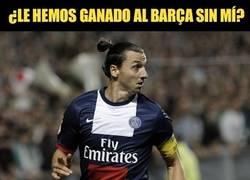 Enlace a Imagínate el partido con Zlatan