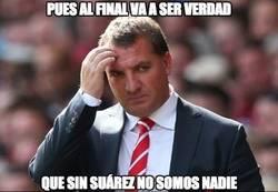 Enlace a Sin Suárez el Liverpool no levanta cabeza