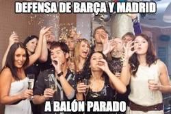Enlace a Defensa de Barça y Madrid a balón parado, festival