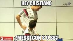 Enlace a Hey Cristiano, ¿Messi cómo se escribe?