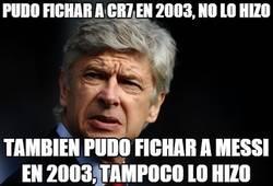 Enlace a Wenger pudo haber cambiado la historia del fútbol