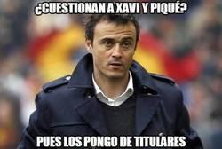 Enlace a ¿Cuestionan a Xavi y Piqué?