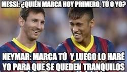 Enlace a Messi: ¿quién marca hoy primero, tu o yo?