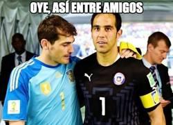 Enlace a Casillas aún alucina con la imatibilidad de Bravo