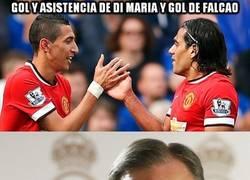 Enlace a Gol y asistencia de Di María y gol de Falcao
