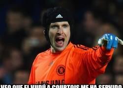 Enlace a Cech sale por Courtois