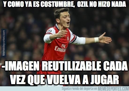 395331 - Y como ya es costumbre, Özil no hizo nada