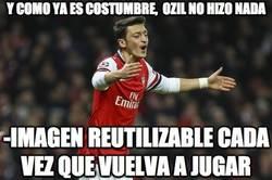Enlace a Y como ya es costumbre, Özil no hizo nada