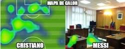 Enlace a Mapa de calor de Cristiano vs Messi