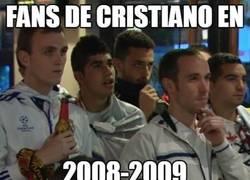 Enlace a Ahora salen fans de Cristiano de todos lados