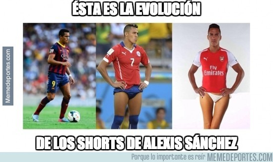 395991 - La evolución de Alexis Sánchez