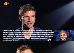 Enlace a BRUTAL: Neuer, Müller y Lahm, revelan lo que les dijo Christoph Kramer tras su choque en la Final