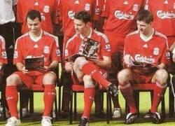 Enlace a Érase una vez en el mediocampo del Liverpool