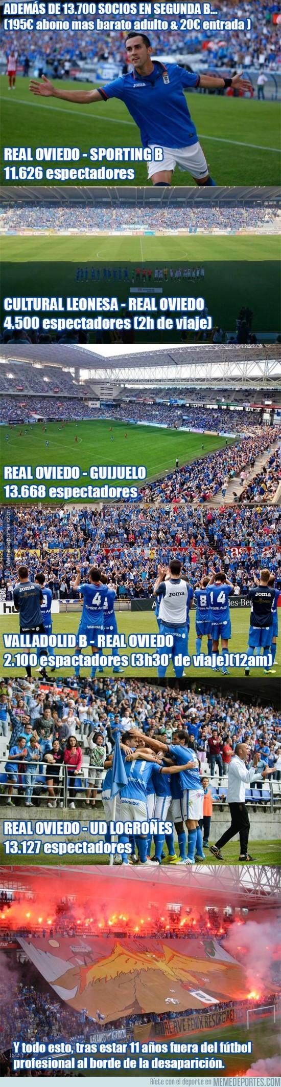 396398 - Asistencia a partidos del @RealOviedo esta temporada
