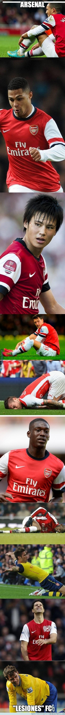 396489 - Arsenal 'Lesiones' FC
