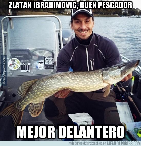 397256 - Zlatan Ibrahimovic, buen pescador