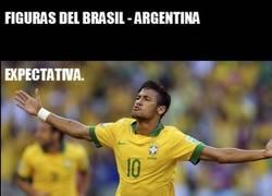 Enlace a Figuras del amistoso entre Brasil y Argentina