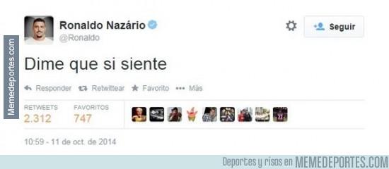 397383 - El tweet de Ronaldo provocando a los argentinos
