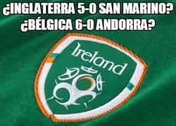 Enlace a ¿Inglaterra 5-0 San Marino? ¿Bélgica 6-0 Andorra?