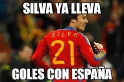 Enlace a Silva hace honor a su dorsal