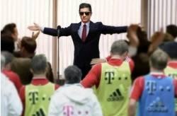 Enlace a Así llegará Lewandowski al próximo entrenamiento del Bayern Munich