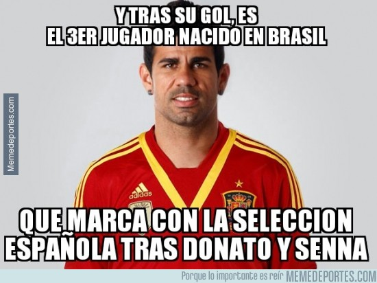 397940 - Diego Costa se une al club de Donato y Senna