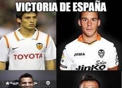 Enlace a Sabor valenciano en la selección española