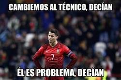 Enlace a Diferente técnico de Portugal, mismos resultados