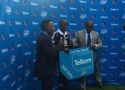 Enlace a En Sudáfrica, el mejor jugador del partido recibe un tarjeta de datos de 5GB