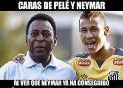 Enlace a La gracia que le hace a Pelé que Neymar haya conseguido algo que él nunca pudo, un póker con Brasil