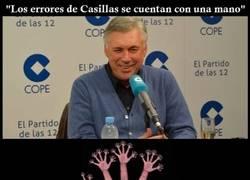 Enlace a Podemos contar con una mano los errores de Casillas