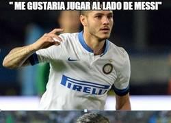 Enlace a Mauro Icardi ya lo tiene claro, una vez más