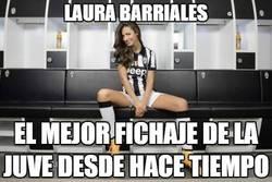Enlace a La española Laura Barriales, fichajazo de la Juve