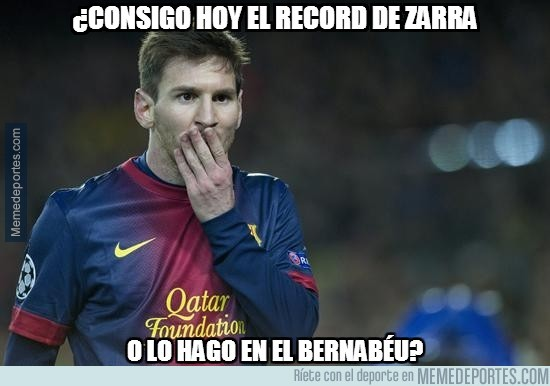 399369 - Messi tiene un dilema. Ser o no ser