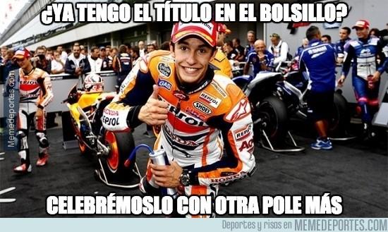 399386 - Marc Márquez sigue de récord, igualando las 12 poles de Stoner en 2011