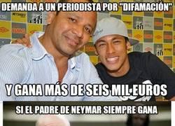 Enlace a No hay nadie como Neymar padre para sacar pasta de todos sitios
