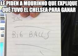 Enlace a Le piden a Mourinho que explique qué tuvo el Chelsea para ganar